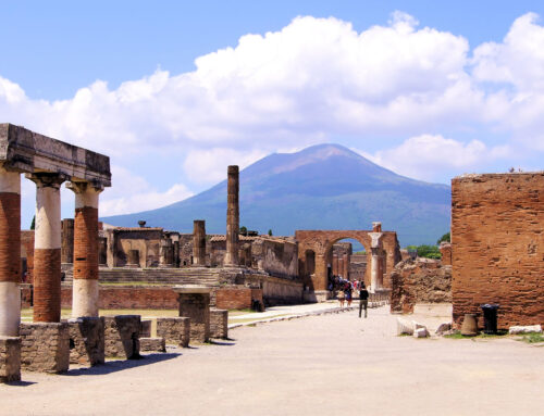 TRANSFER TO POMPEII RUINS AND VESUVIUS + LUNCH EXPERIENCE